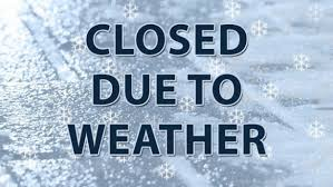 LAmp Closed due to weather today at 3:30 pm